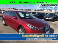 Features: Bluetooth, a Front Head Air Bag, an Alarm,