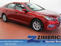 2.4L SE trim, REMINGTON RED (TBD) exterior and GRAY