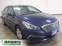 2015 Hyundai Sonata SE Lakeside Blue FWD 6-Speed