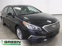 2015 Hyundai Sonata SE Phantom Black FWD 6-Speed