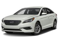 Recent Arrival! Cloth. Black 2015 Hyundai Sonata SE FWD