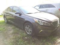 New Arrival! Bluetooth, This 2015 Hyundai Sonata 2.4L