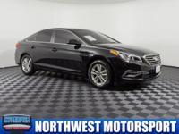 Clean Carfax One Owner Sedan with Bluetooth!  Options: