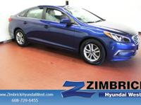 2.4L SE trim, Lakeside Blue exterior and Gray interior.
