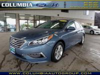 This Nouveau Blue 2015 Hyundai Sonata SE might be just