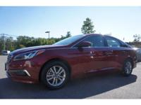 Options:  2015 Hyundai Sonata Se|Red Hot! Welcome To