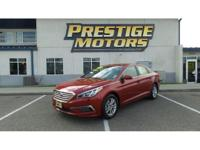 2015 Hyundai Sonata SE - One Owner and Accident Free