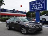 Options:  2015 Hyundai Sonata Se|Brown|Don't Let The