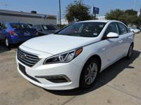 We are excited to offer this 2015 Hyundai Sonata. How
