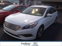 Bought & Serviced Here, This 2015 Sonata Is Fresh Off