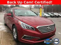 HYUNDAI CERTIFIED PRE-OWNED WARRANTY  ~ BLUETOOTH ~ ONE