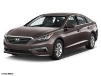 Recent Arrival! 2015 Hyundai Sonata SE CARFAX