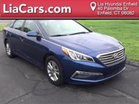 2015 Hyundai Sonata in Lakeside Blue, 1 Owner!,