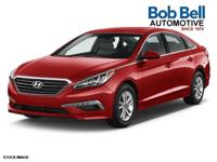 2015 Red Hyundai Sonata SE USB Charging Port, Cruise