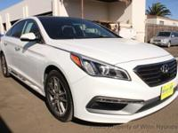 This 2015 Hyundai Sonata Sport 2.0T Sedan 4D features a