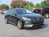 CARFAX One-Owner. Certified. Phantom Black 2015 Hyundai