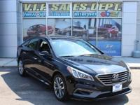 Phantom Black 2015 Hyundai Sonata Limited 2.0T FWD
