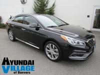 Certified. 2015 Hyundai Sonata Limited 2.0T Phantom