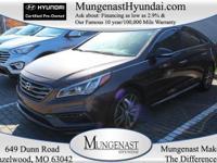 Sonata Sport 2.0T and Hyundai Certified. One