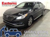 Options:  2015 Hyundai Sonata 2.0T Limited|Black|2015