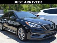 New Price! This Sonata features: Leather.Clean
