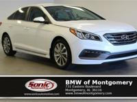 This 2015 Hyundai Sonata 2.4L Sport comes complete with