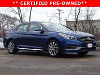 * 1-OWNER CLEAN CARFAX CERTIFIED PRE-OWNED SONATA SPORT