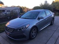 2015 Hyundai Sonata Sport 2.0T Sedan LOW MILES, GREAT