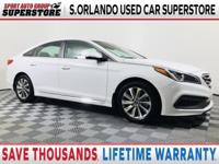 SAVE THOUSANDS on this 2015 Hyundai Sonata Sport. SPORT