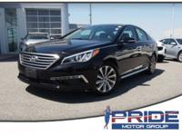 New Price! CARFAX One-Owner. Phantom Black 2015 Hyundai