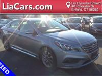 2015 Hyundai Sonata in Gray, Bluetooth Smart