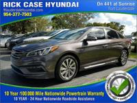 CARFAX One-Owner. Certified. Brown 2015 Hyundai Sonata