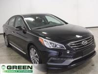 2015 Hyundai Sonata Sport Premium Package Phantom Black