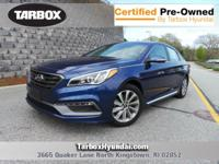 CARFAX One-Owner. Clean CARFAX. Blue 2015 Hyundai