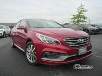 This 2015 Hyundai Sonata is offered in the Sport trim