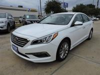 We are excited to offer this 2015 Hyundai Sonata. This