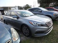 This 2015 Hyundai Sonata 2.4L Sport is offered to you