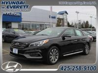 Sonata Sport, 6-Speed Automatic with Shiftronic, and