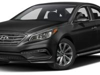 Options:  2015 Hyundai Sonata Sport|Miles: 46365Color: