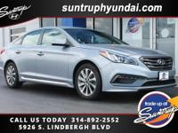 Certified, 150 Point Inspection. 2015 Sonata Sport.