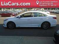 2015 Hyundai Sonata in White. You NEED to see this car!