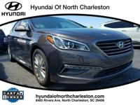 2015 Hyundai Sonata FWD 6-Speed Automatic with