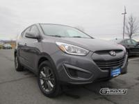 With only 36,000 miles this sporty 2015 Hyundai Tucson
