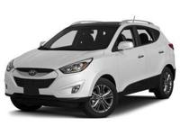 Outstanding design defines the 2015 Hyundai Tucson!