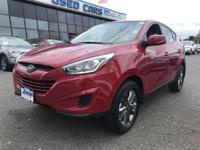 Just arrived!  This beautiful Hyundai Tucson GLS with