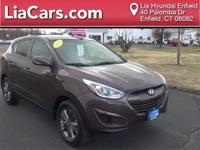 2015 Hyundai Tucson in Kona Bronza Mica, 1 Owner!, And