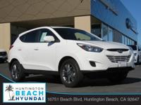 2015 Hyundai Tucson White 6-Speed Automatic with