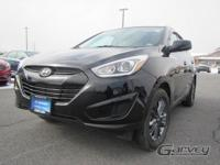 The 2015 Hyundai Tucson is a five-passenger compact