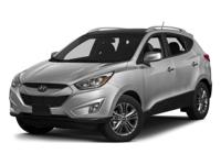2015 Hyundai Tucson GLS in Blue, not a rental, service