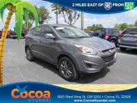 This 2015 Hyundai Tucson GLS in Gray features: Clean